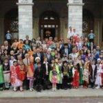 20. Türk Dünyası Çocuk Şöleni Grupları Vali Mutlu'yu ziyaret etti.