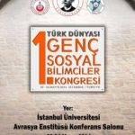 1. Türk Dünyası Genç Sosyal Bilimciler Kongresi Duyurusu