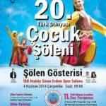 20. Türk Dünyası Çocuk Şöleni – 4 Haziran 2014
