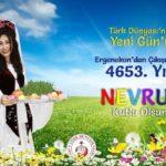 Ergenekon'dan Çıkışımızın 4653. Yıldönümü / Nevruz Bayramı Kutlu Olsun!