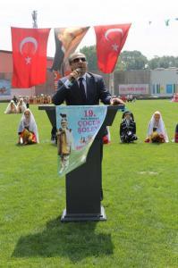 19. Türk Dünyası Çocuk Şöleni Büyük Gösterisi