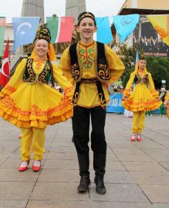 20. Türk Dünyası Çocuk Şöleni Tanıtım Gösterisi