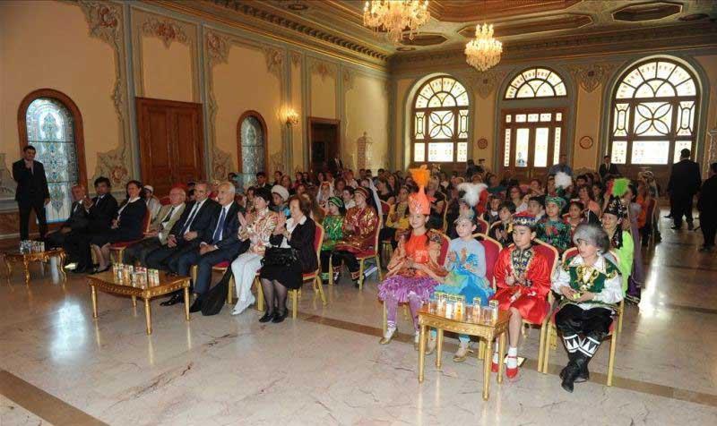 20. Türk Dünyası Çocuk Şöleni T.C. İstanbul Valiliği Kabul Töreni