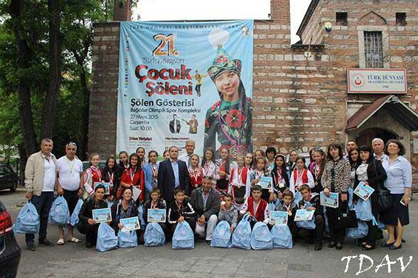 21. Türk Dünyası Çocuk Şöleni Gidiş Kazakistan
