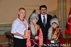 21. Türk Dünyası Çocuk Şöleni T.C. İstanbul Valiliği Kabul Töreni