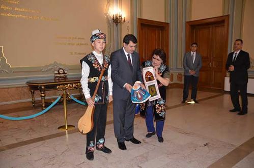 22. Türk Dünyası Çocuk Şöleni - İstanbul Valimiz
