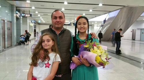22. Türk Dünyası Çocuk Şöleni - Bayçeçekey, Kırgızistan Bişkek'ten İstanbul'a geldi