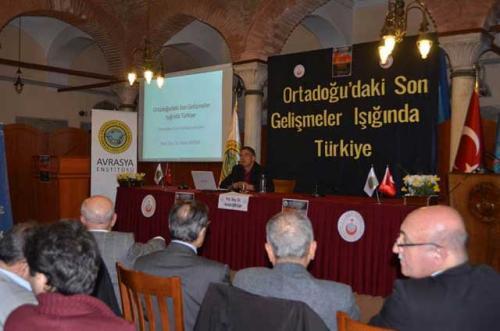 Turan Kültür Merkezi - Ortadoğu'daki Son Gelişmeler Işığında Türkiye