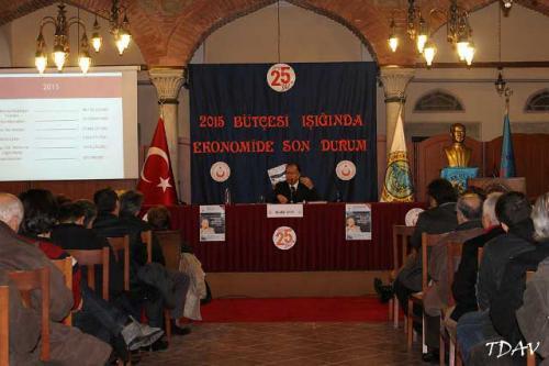 Turan Kültür Merkezi - 2015 Bütçesi Işığında Ekonomide Son Durum