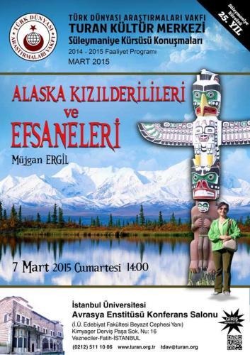 Turan Kültür Merkezi - Alaska Kızılderilileri ve Efsaneleri