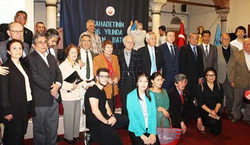 Turan Kültür Merkezi - Şahadetinin 66. Yıldönümünde Osman Batur