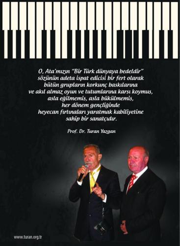 Turan Kültür Merkezi - Bozkurt İlham Gencer'e Saygı Günü Davetiye