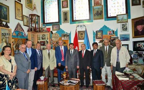 İstanbul Valimiz Sayın Vasip Şahin'in Vakfımızı Ziyareti